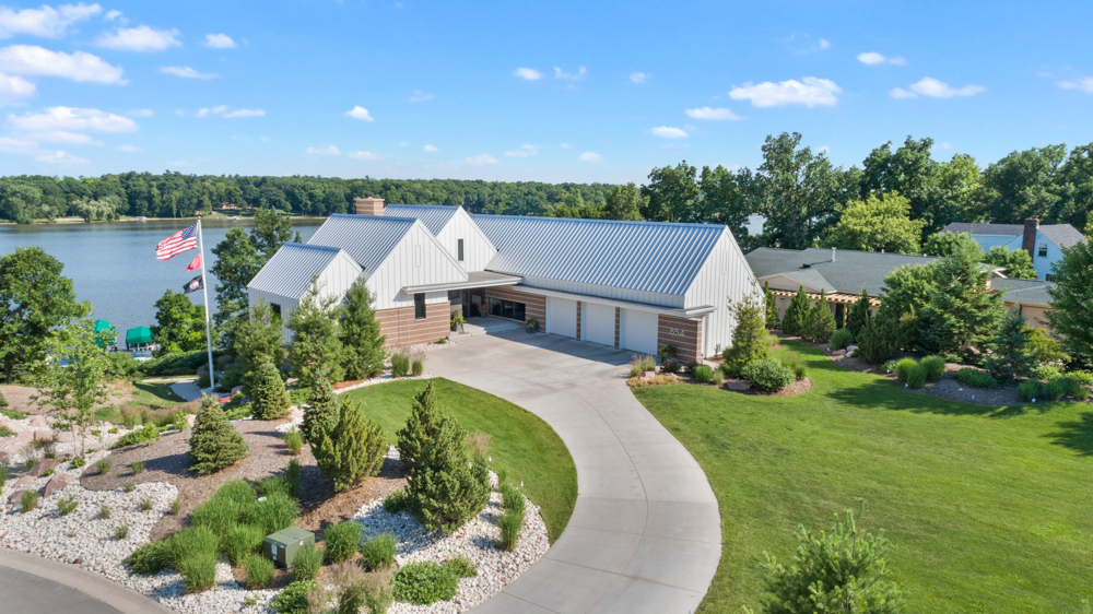 1.5 Million Dollar House Aerial De Pere